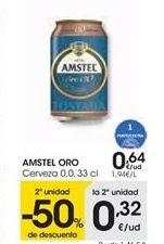 Oferta de Cerveza 0,0 AMSTEL ORO por 0,64€