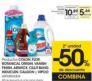Oferta de Detergente gel COLON por 10,89€