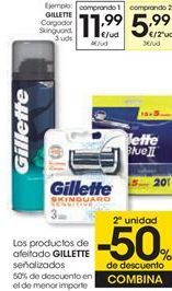 Oferta de Cargador Skinguard GILLETTE por 11,99€