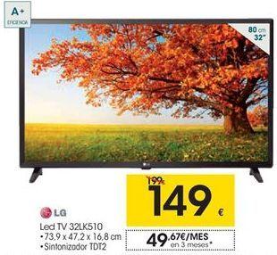 Oferta de Led TV 32LK510 LG por 149€