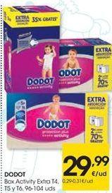 Oferta de DODOT Activiy Extra T4, T5, y T6 por 29,99€