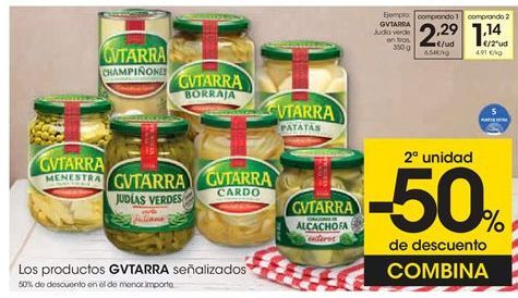 Oferta de Judía verde en tiras GVTARRA por 2,29€