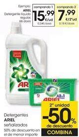 Oferta de Detergentes ARIEL  por
