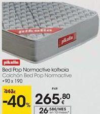 Oferta de Colchón Bed Pop Normative Pikolin  por 265,8€
