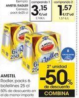 Oferta de Cerveza AMSTEL RADLER por 3,15€