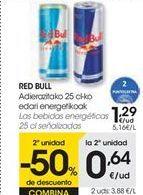 Oferta de Las bebidas energéticas RED BULL por 1,29€