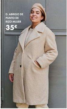 Oferta de Abrigo mujer por 35€