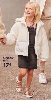 Oferta de Abrigo niña por 17€