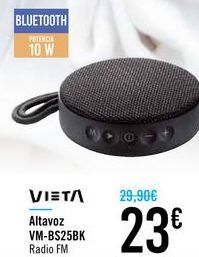 Oferta de Altavoz VM-BS25BK VIETA por 23€