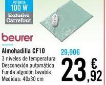 Oferta de Almohadilla CF10 Beurer por 23,92€