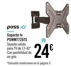 Oferta de Soporte TV PSWMT 725TS POSS por 24€