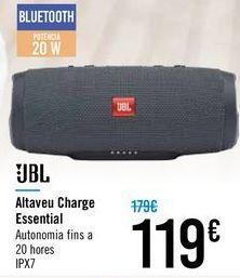 Oferta de Altavoz Charge Essential JBL por 119€