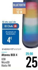 Oferta de Altavoz BOX 4 ENERGY SISTEM por 25€