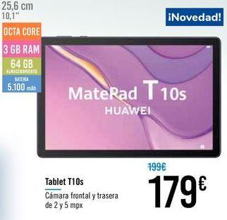 Oferta de Tablet T10S HUAWEI por 179€