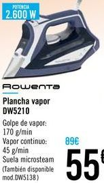 Oferta de Plancha vapor DW5210 Rowenta  por 55€