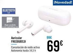 Oferta de Auricular FREEBUDS31 por 69€