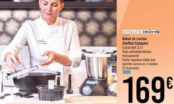 Oferta de Robot de cocina Chefbot Compact por 169€