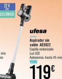 Oferta de Aspirador sin cables AE5022 Ufesa por 119€