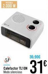 Oferta de Calefactor TL10N S&P por 31€
