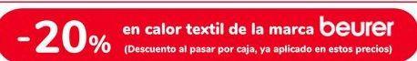 Oferta de En calor textil de la marca Beurer  por