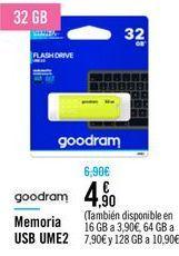 Oferta de Memoria USB UME2  por 4,9€