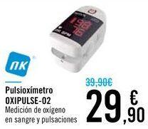 Oferta de Pulsioxímetro OXIPULSE-02 por 29,9€