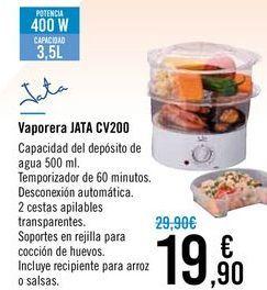 Oferta de Vaporera JATA CV200 por 19,9€