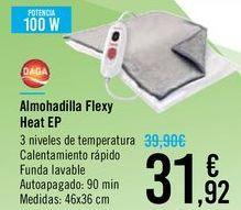 Oferta de Almohadilla Flexy Heat EP DAGA por 31,92€