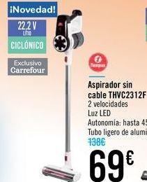 Oferta de Aspirador sin cables THVC2312F por 69€