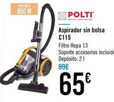 Oferta de Aspirador sin bolsa C115 Polti  por 65€