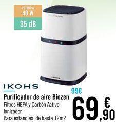 Oferta de Purificador de aire Biozen IKOHS  por 69,9€