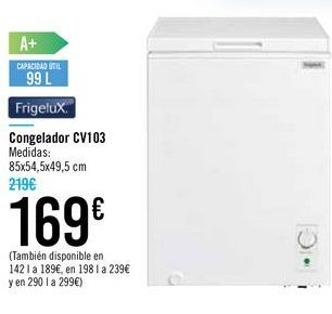 Oferta de Congelador CV103  por 169€