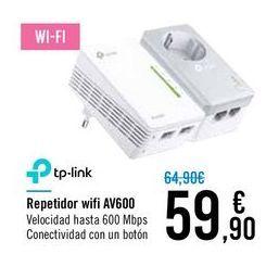 Oferta de Repetidor wifi AV600 TP-LINK por 59,9€