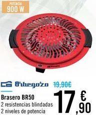 Oferta de Brasero BR50 Orbegozo  por 17,9€