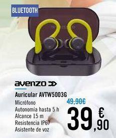 Oferta de Auricular AVTW5003G AVENZO por 39,9€