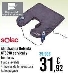 Oferta de Almohadilla Helsinki CT8690 cervical y hombros  por 31,92€