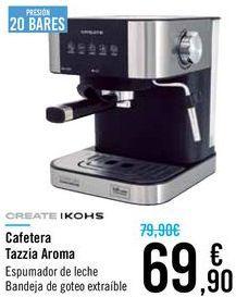Oferta de Cafetera Tazzia Aroma Create Ikohs  por 69,9€