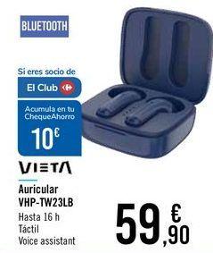 Oferta de Auricular VHP-TW23LB VIETA por 59,9€
