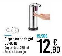 Oferta de Dispensador de gel CD-001D por 12,9€