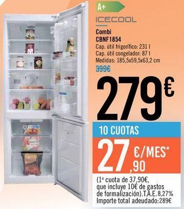 Oferta de Combi CBNF1854 ICECOOL por 279€