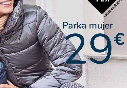 Oferta de Parka mujer por 29€