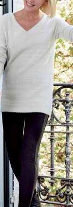 Oferta de Jersey pelito o legging polipiel mujer  por 15€