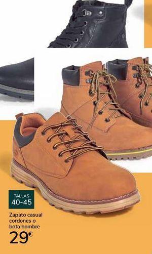 Oferta de Zapato casual cordones o bota hombre  por 29€