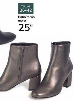 Oferta de Botín tacón mujer  por 25€
