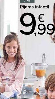 Oferta de Pijama infantil  por 9,99€