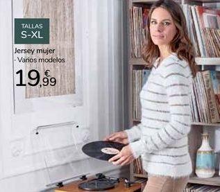 Oferta de Jersey mujer  por 19,99€