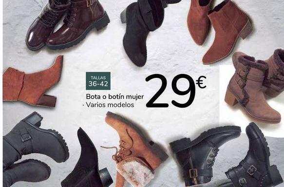 Oferta de Bota o botín mujer  por 29€