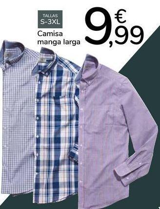 Oferta de Camisa manga larga  por 9,99€