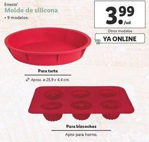 Oferta de Molde de silicona ernesto por 3,99€