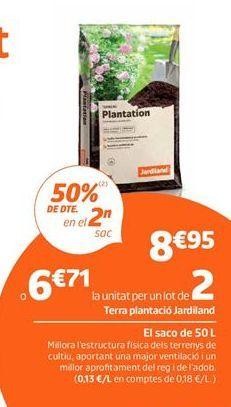 Oferta de Tierra para plantas por 8,95€